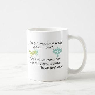 World men without funny mug kaffeetasse