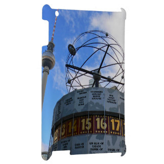 World Time Clock, Alex, Berlin iPad Hülle