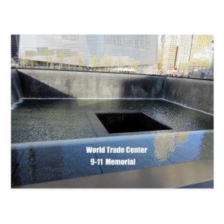 World Trade Center, 9/11 Denkmal Postkarte