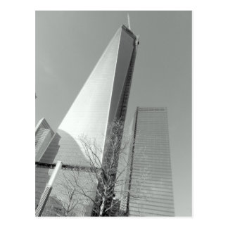 World Trade Center laufend Postkarte