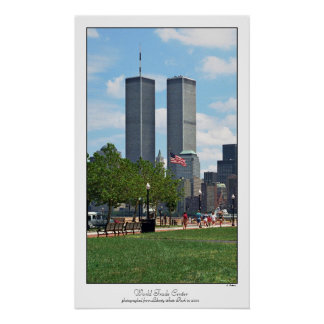 World Trade Center-Plakat Poster