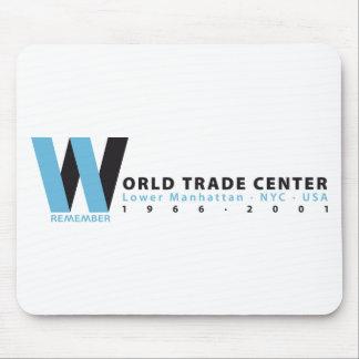 World Trade Center steuer zahlt Mousepad