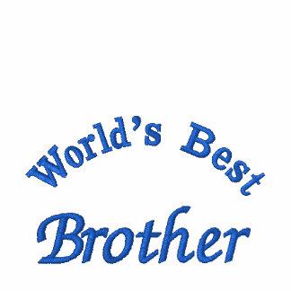 World'd bester Bruder, gesticktes Hemd Besticktes Polo Hemd