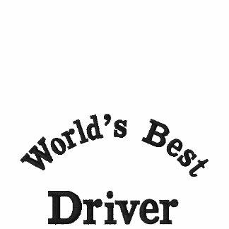 World'd bester Fahrer, gesticktes Hemd Besticktes Polohemd