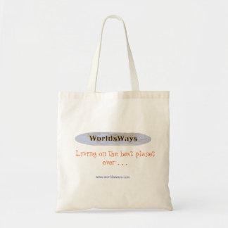 WorldsWays Taschen-Tasche Tragetasche