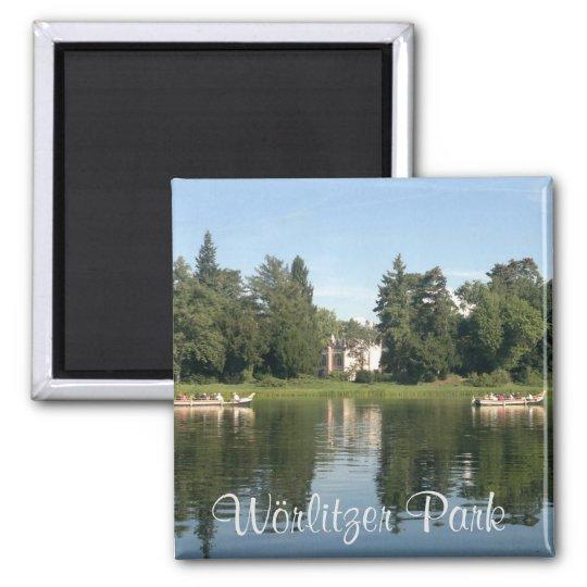 Wörlitzer Park / Park Woerlitz Quadratischer Magnet