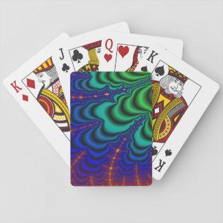 Wormhole-Fraktal-Raum-Rohr Pokerkarte