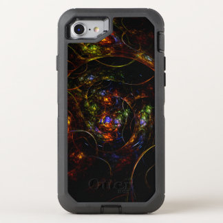 Wormhole-Science Fiction-Fraktal OtterBox Defender iPhone 8/7 Hülle