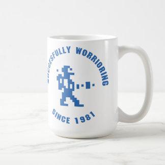 Worrior - Blau Kaffeetasse