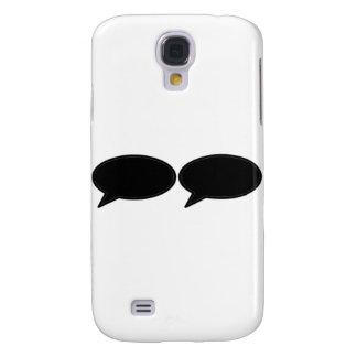 Wort-Blase 2 Schwarzem die MUSEUM Zazzle Geschenke Galaxy S4 Hülle