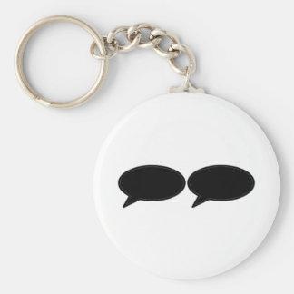 Wort-Blase 2 Schwarzem die MUSEUM Zazzle Geschenke Schlüsselband