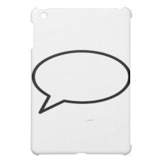 Wort-Blase verließ die MUSEUM Zazzle Geschenke Hülle Für iPad Mini
