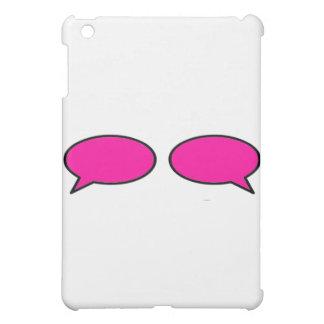 Wort-Blasen-linksrechts Magenta das MUSEUM Zazzle  Hülle Für iPad Mini