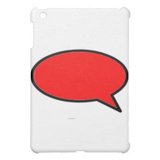 Wort-Blasen-Recht-Rot die MUSEUM Zazzle Geschenke Hülle Für iPad Mini