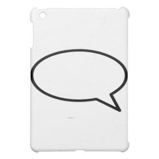 Wort-Blasen-Recht-Transport die MUSEUM Zazzle iPad Mini Cover