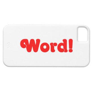Wort! iPhone 5 Schutzhüllen