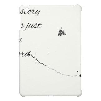 Wort-Zitat iPad Mini Hülle