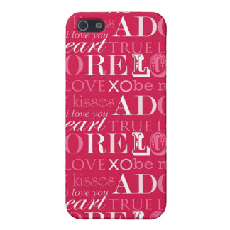 Wörter des Falles der Liebe-iPhone4 iPhone 5 Cover