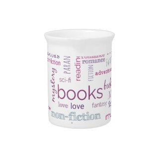 Wörter für Bücher Krug