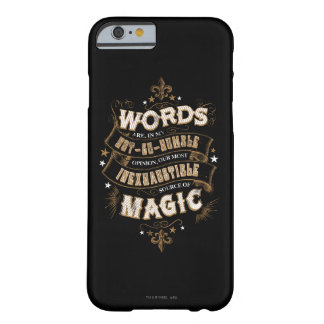 Wörter Harry Potter-Bann-| sind das unser meiste Barely There iPhone 6 Hülle