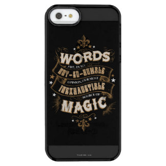 Wörter Harry Potter-Bann-  sind das unser meiste Durchsichtige iPhone SE/5/5s Hülle