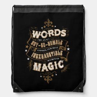 Wörter Harry Potter-Bann-| sind das unser meiste Sportbeutel