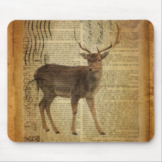 Wörterbuchdruck Outdoorsman Whitetail-Dollar Mousepad