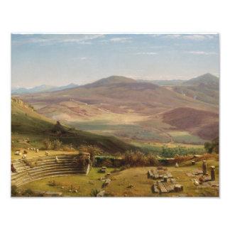 Worthington Whittredge - der Amphitheatre Fotodruck