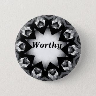 Worthy_Button Runder Button 5,7 Cm
