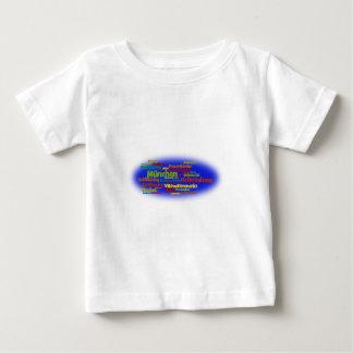 Wortwolke word cloud München Munich Baby T-shirt
