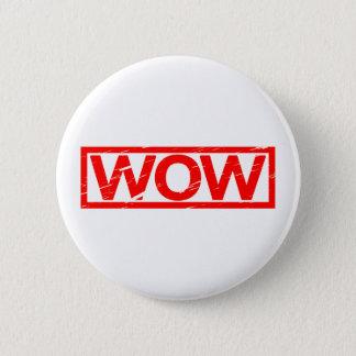Wow-Briefmarke Runder Button 5,7 Cm