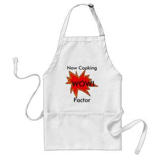 Wow-Faktor, der die Kochs-Köche backen Bäcker Schürze