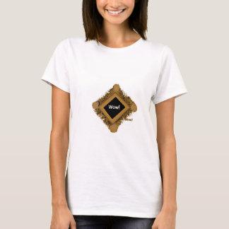 Wow! nimmt den Moment der Anerkennung gefangen T-Shirt