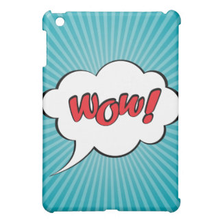 """""""Wow-"""" - Pop-Kunst iPad Fall Hülle Für iPad Mini"""