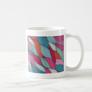 wowen colorfull Muster Kaffeetasse