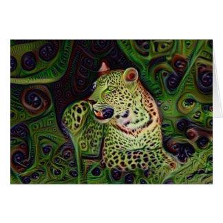 Wowzer Leopard Karte