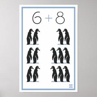 WPA 6+8 Pinguine! Poster
