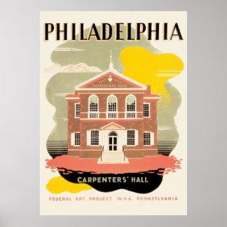 WPA-Plakat Philadelphia Poster