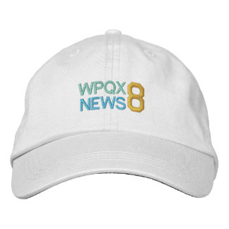 WPQX 8 NACHRICHTEN-Kappe Bestickte Baseballkappe