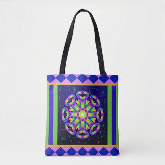 WQ Kaleidoskop-Posh Reihen-Taschen-Tasche keine 4 Tasche