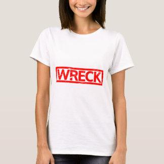 Wrack-Briefmarke T-Shirt