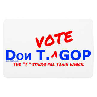 Wrack Dons T. Vote GOP/des Zugs - Magnet