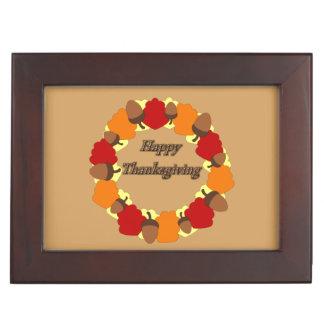 Wreath ~ glücklicher Erntedank Erinnerungsdose