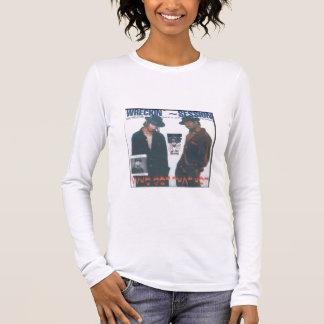 Wreckin ` Sitzungs-Frauen ` s lange Hülse Langärmeliges T-Shirt