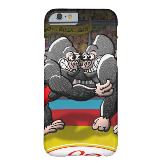 Wrestling-Gorillas Barely There iPhone 6 Hülle