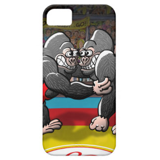 Wrestling-Gorillas iPhone 5 Etui