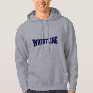 Wrestling-Hochschulart Hoodie