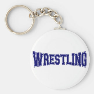 Wrestling-Hochschulart Schlüsselanhänger