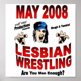 Wrestling-Plakat Poster
