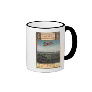 Wright-Bruder-Flugzeug Kaffee Tassen